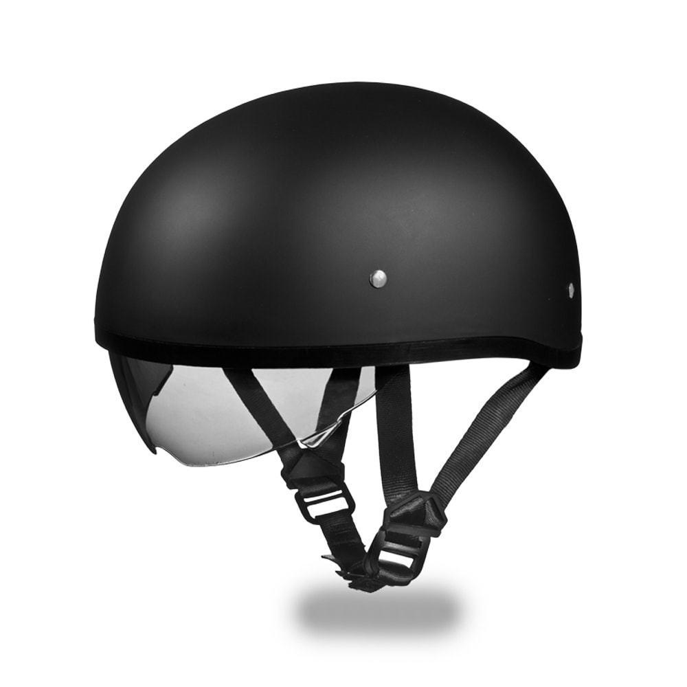 New Daytona Skull CAP W  INNER SHIELD HI-GLOSS Bike Motorcycle DOT ... 65d4a5a69c4